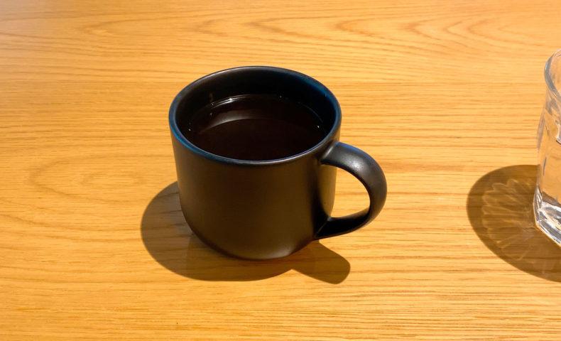 クローバーで淹れたコーヒー