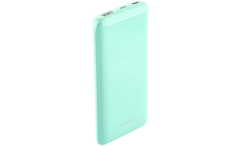 cheero Flat 10000mAh with Power Delivery 18W CHE-112