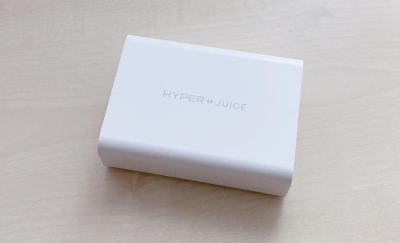 HyperJuice GaN 100W ACアダプタ HP-HJ-GAN100