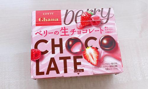 ベリーの生チョコレート