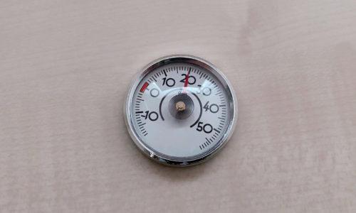 ミニミニ温度計(シルバー)