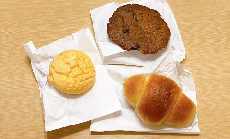 白トリュフの塩パンやメロンパンなど