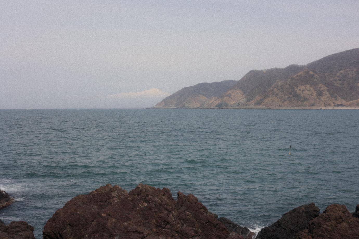 海と鳥海山