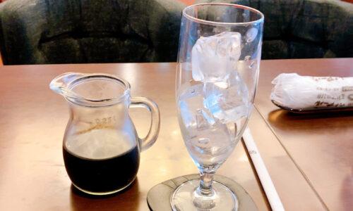 トラジャブレンドアイスコーヒー
