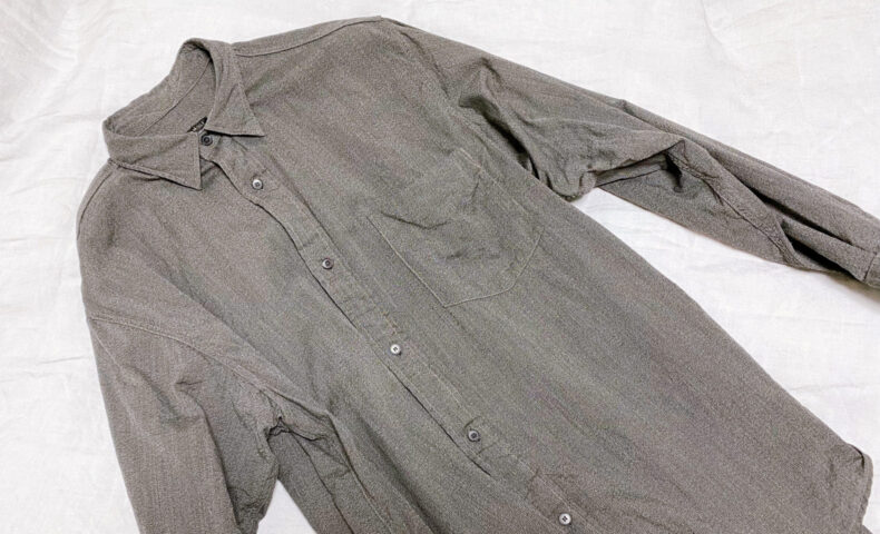 COMOLI ヨリ杢シャツ