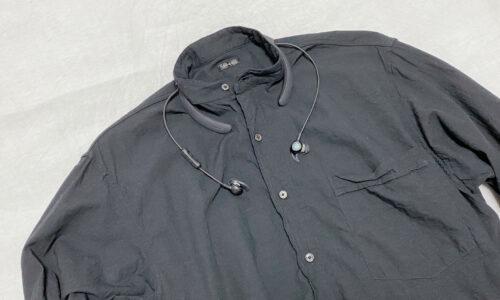 バンドカラーシャツとQC30