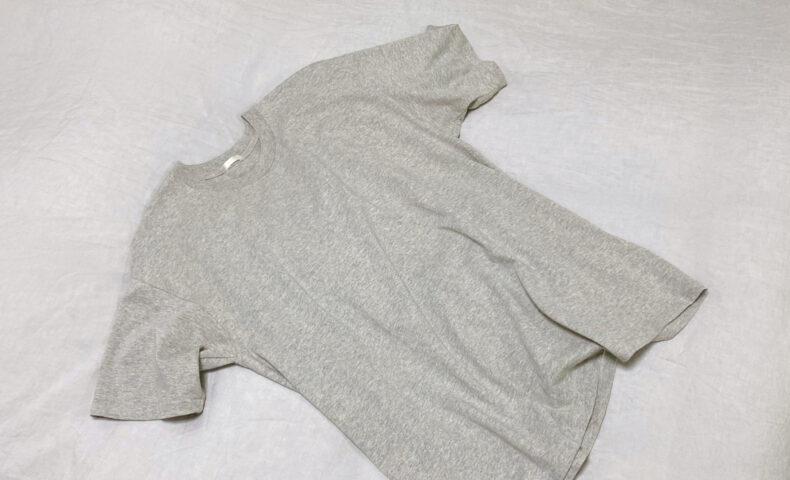 COMOLI 空紡天竺 半袖Tシャツ グレー