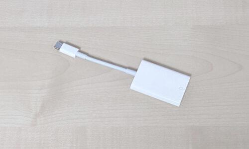 Apple SDカードリーダー