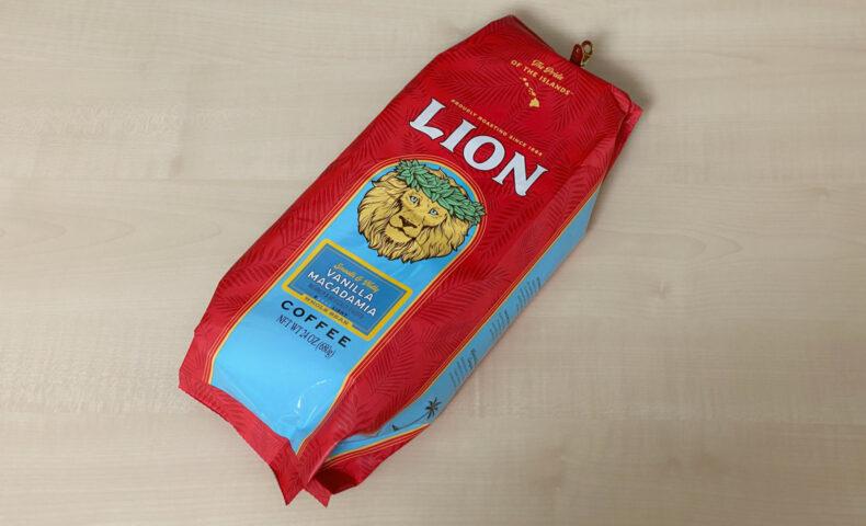 ライオンコーヒー(バニラマカダミア)